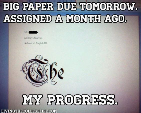 college essay about procrastination