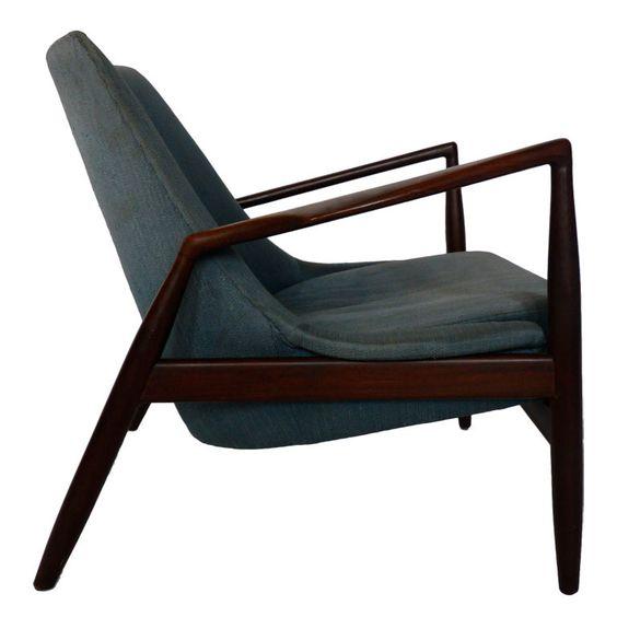 Ib Kofod-larsen Lounge Chair, Denmark, 1960's