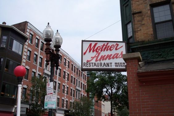 Mother Anna's, in the North End of #Boston. http://www.hiddenboston.com/blogphotopages/MotherAnnasPhoto.html