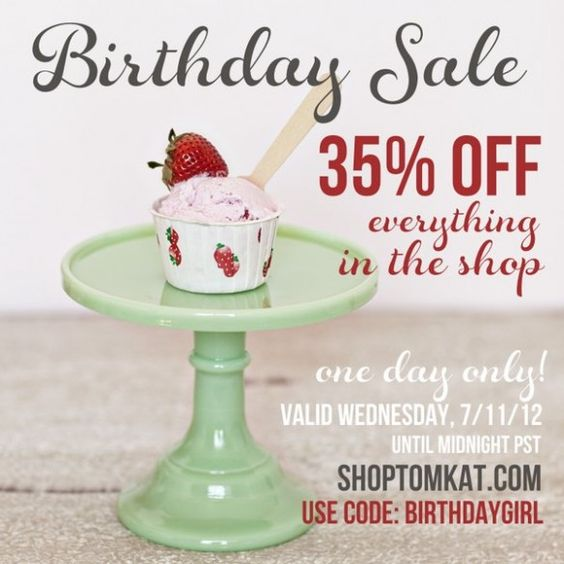 TODAY only! Don't miss our biggest sale ever! shoptomkat.com