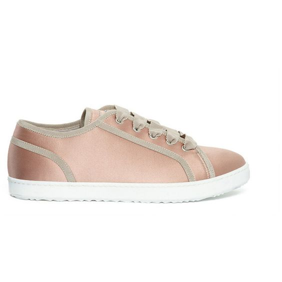 ESCADA SPORT Suede Sneaker ($425) ❤ liked on Polyvore