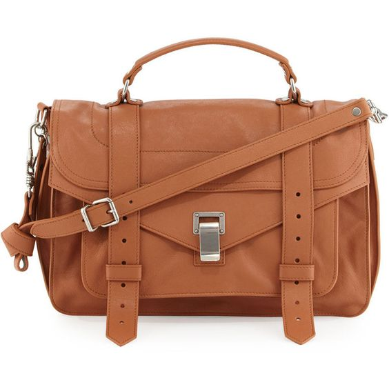 Proenza Schouler PS1 Medium Satchel Bag ($1,885) ❤ liked on ...