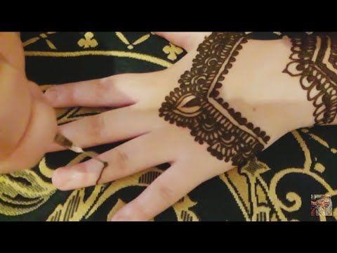 نقش هندي أنيق Henna Design Youtube Hand Tattoos Henna Hand Tattoo Henna Designs