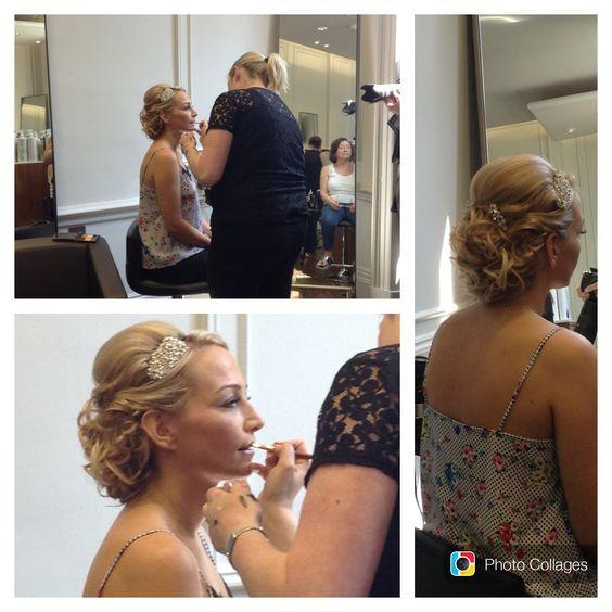 Wedding hair - vintage look by Ria