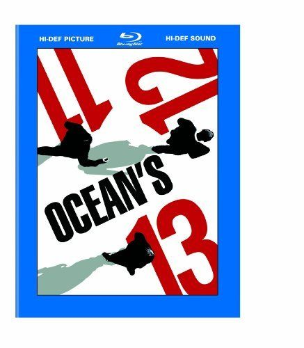 Ocean's Trilogy (Ocean's Eleven / Ocean's Twelve / Ocean's Thirteen) [Blu-ray]: http://www.amazon.com/Oceans-Trilogy-Eleven-Thirteen-Blu-ray/dp/B000W9DSVW/?tag=arcadedumpcoc-20