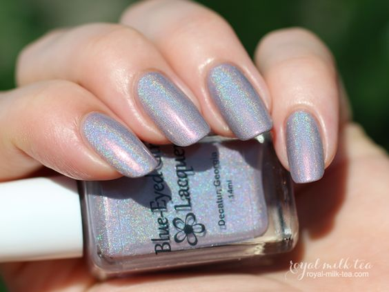 Blue-Eyed Girl Lacquer: We Saved the World, I Say We Party!