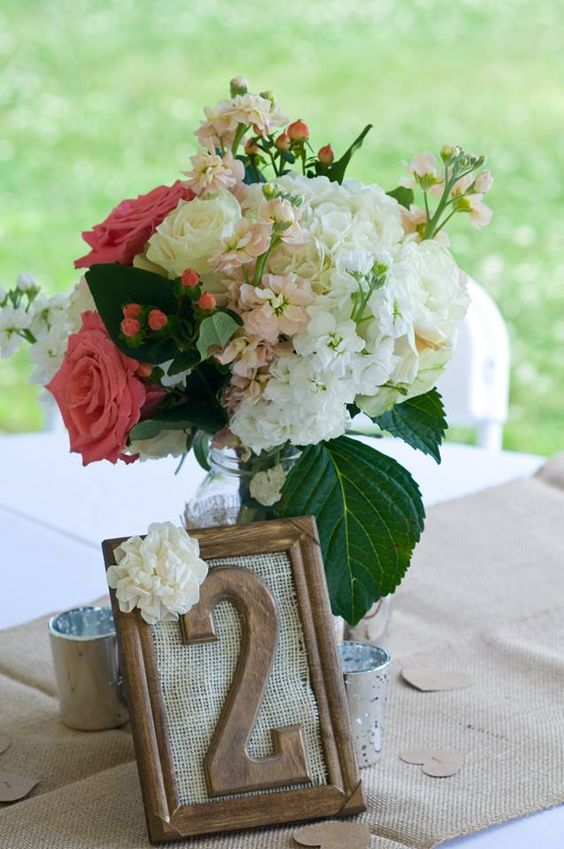A guest table