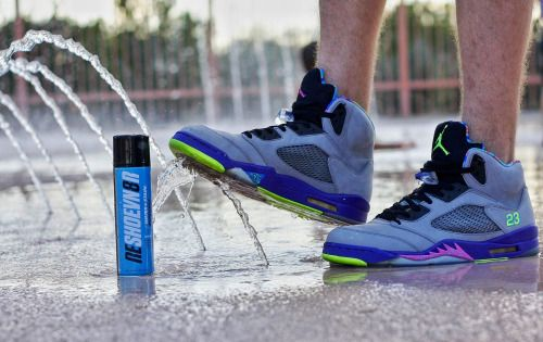 Reshoevn8r's NEW Water+Stain Repellent is now fully stocked in both aerosol and pump spray options! Shop now: www.Reshoevn8r.com!