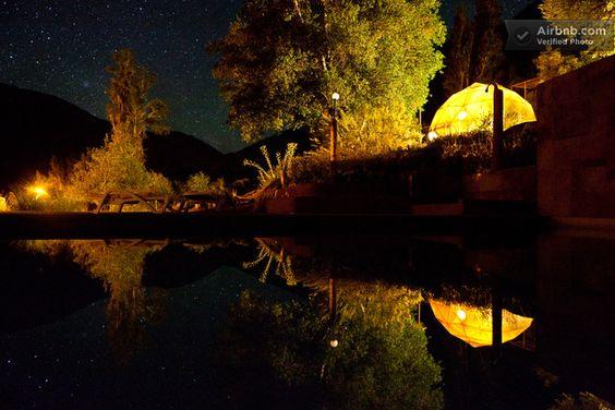 ElquiDomos Astronomic hotel in Paiguano | Coquimbo, Chile