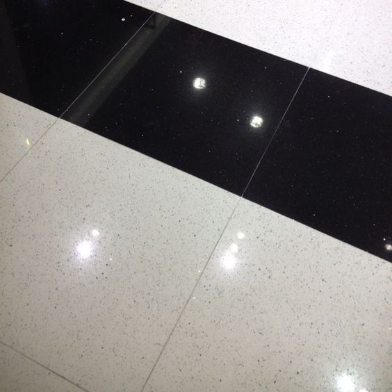 Glitter Kitchen Floor Tiles: Sparkle Quartz Floor Tile!