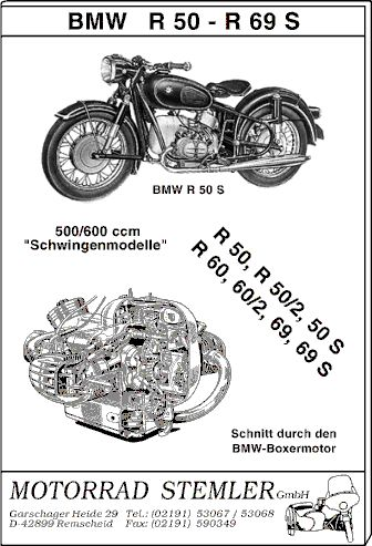 --- Motorrad Stemler GmbH - Ersatzteile für deutsche Motorrad-Oldtimer ---------------------->