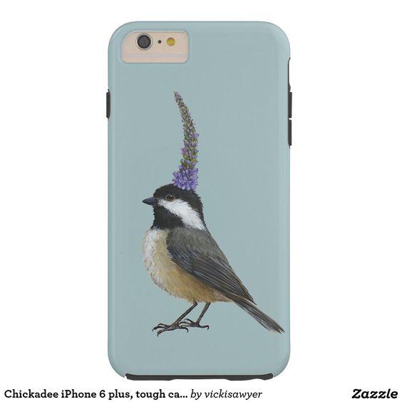Chickadee iPhone 6 plus, tough case Tough iPhone 6 Plus Case