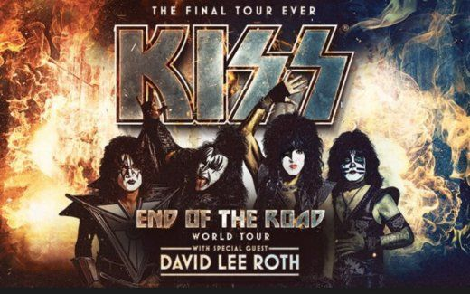 Report David Lee Roth To Open For Kiss On 2020 U S Tour Kiss Rock Bands Kiss Concert Kiss World