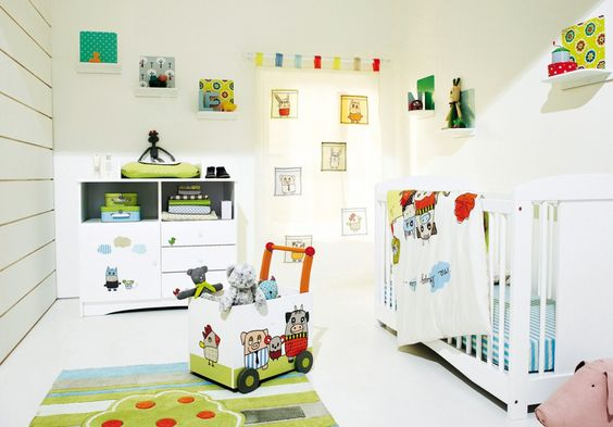 Classic Baby Room Rugs With Marble Flooring Ideas Also White Baby Cribs And Elegant Color Wall Bedroom Using Picture Frame Natural Style Bedroom That Have Small Cabinet Of Lid Bedroom Design. .