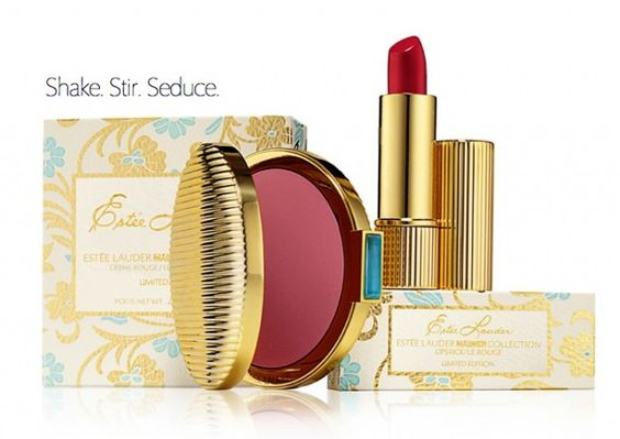 ESTEE LAUDER Mad Men Collection - unfortunatelly won't launch in Germany. There will be a cream blusher and a pretty lipstick available in US soon: http://www.magi-mania.de/estee-lauder-shake-stir-seducemad-man-collection/