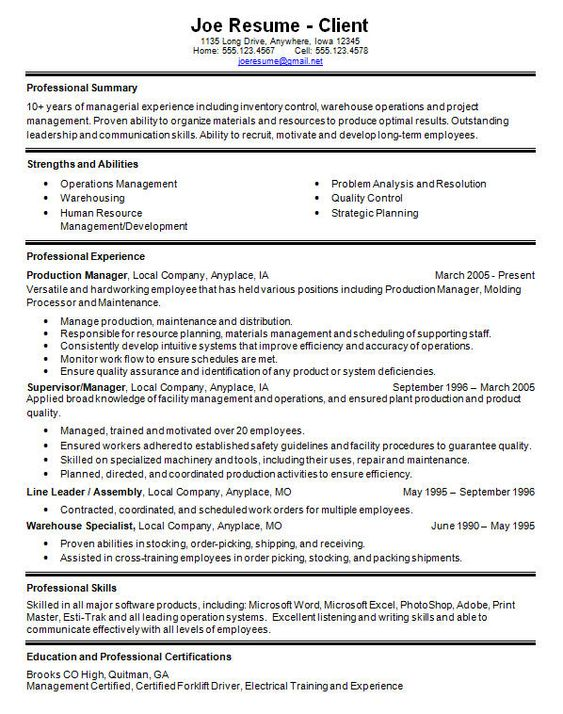 Professional Cover Letter Resume Cover Letter in Professional     Resume Sample It resume template it professional Resume Examples Resume  Templates Word Free Programmer Cv Template
