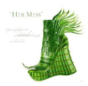 Shoe Fleur: a footwear fantasy.