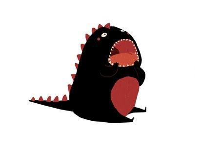 Criatura con dientes