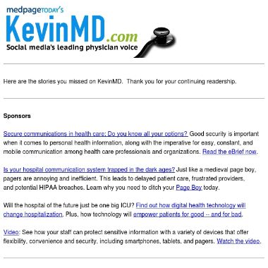 Bloggers Kevin,MD