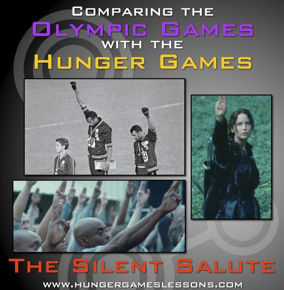 Hunger Games Lessons: The Original Silent Salute? Comparing Moments from the Olympic Games with The Hunger Games