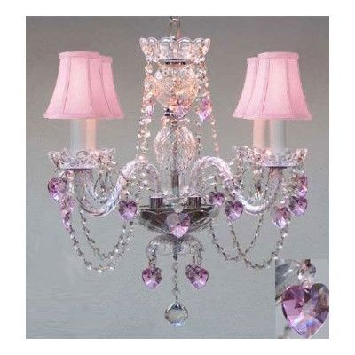 You'll love the 4 Light Swarovski Crystal Chandelier at Wayfair - Great Deals on all Home Improvement products with Free Shipping on most stuff, even the big stuff.