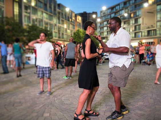 New client alert! These photos make us want to dance-dance-dance! Siempre Salsa Philly Week at the Piazza at Schmidt's Commons - thanks Metro!