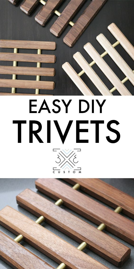 Scrap Wood Trivets Wood Trivets Trivets Diy Diy Wood Projects