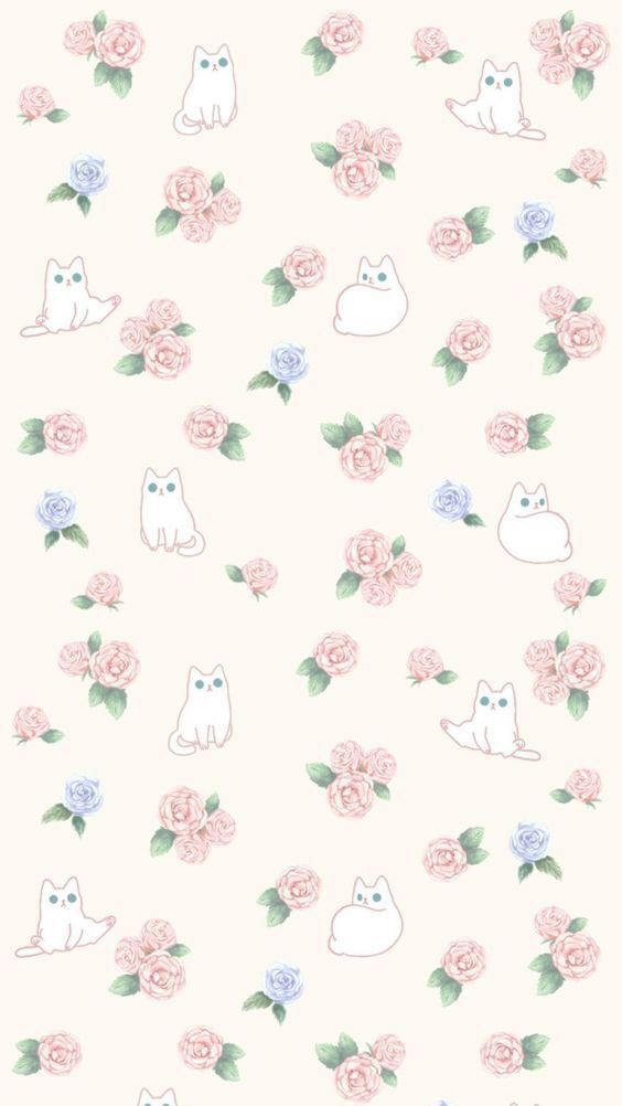 Kitty Wallpaper Hipster Wallpaper Kitty Wallpaper Wallpaper Iphone Cute