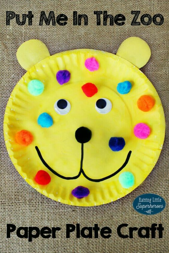 Paper plate craft project