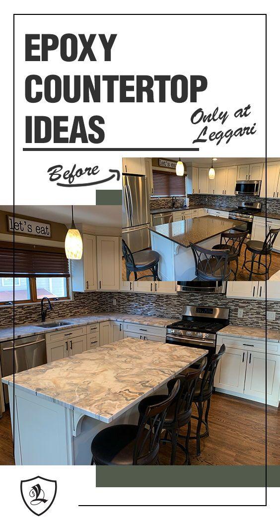 Leggari Products Epoxy Brochure Diy Kitchen Countertops