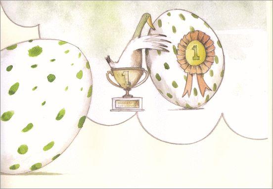 Het vreemde ei. Emily Gravett