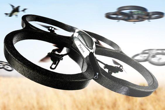 Drones: os 'robôs voadores' que surgem para auxiliar o mercado imobiliário.