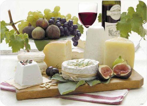 Tuftop-Enjoy-Cheese-Glass-Worktop-Saver-Protector-Chopping-Board-Trivet-40x30cm