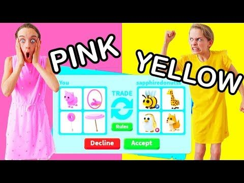 Only Trading In Your Color In Roblox Adopt Me W The Norris Nuts Youtube Roblox Adoption Norris