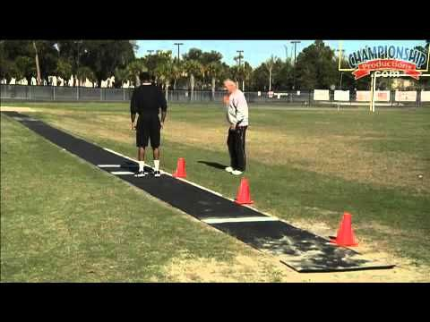 2012 US Olympic Team Head Manager, Ken Brauman, takes you through a triple jump drill progression. There are three drills presented for athletes and coaches ...