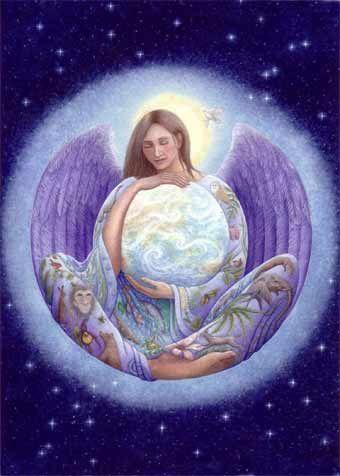 ANGEL ARIEL ( Protector de la tierra y la Naturaleza) - Magia Angelica