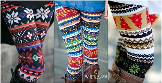 White Plum's Print Leggings! 30 Styles Available!