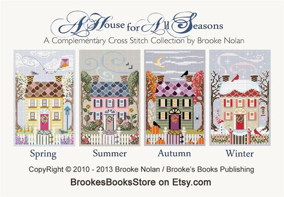 BROOKE'S BOOKS 4 HOUSES FOR ALL SEASONS FREEBIES | Craftsy: