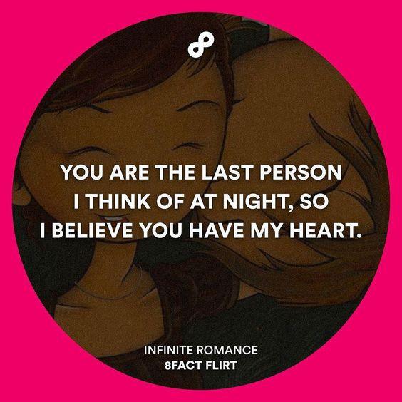 Yes I an sure about that Infinite Romance #8factflirt by 8factflirt