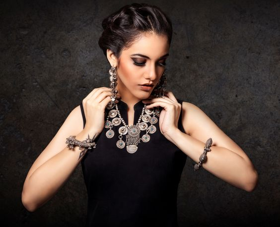 Image result for bold neck piece fashion