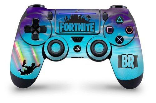 Stormy Sky Rainbow Trails Fur Playstation 4 Pro Und Slim Skin Controller Fortnite Ps4 Controller Skin Ps4 Controller Playstation Controller