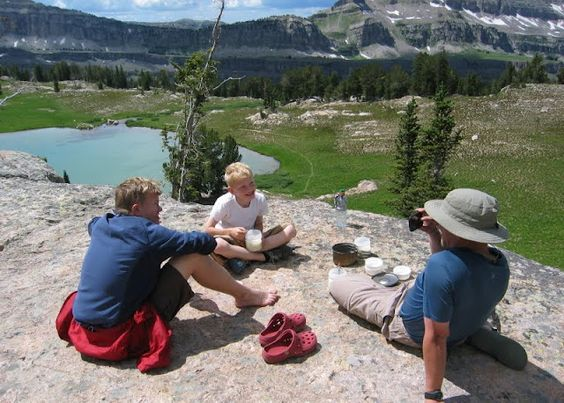 Backpacking with kids is the BEST!! (Sunset Lake)