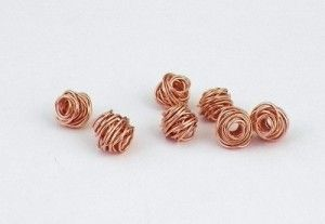 Tutorial to make copper wire beads