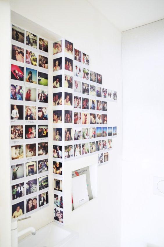 25 idées déco pour habiller un mur  Murs de photos, Fils et Parfait