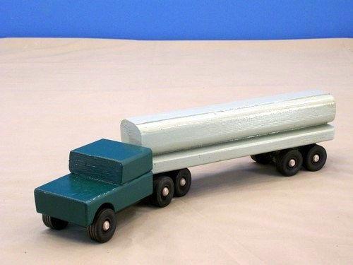 jouet camion citerne camion citerne jouet bois bois jouet tracteur remorque citerne