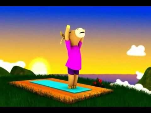 Yoga para Niños (Saludo al Sol) - http://www.bestyogavideosonline.com/yoga-para-ninos-saludo-al-sol/