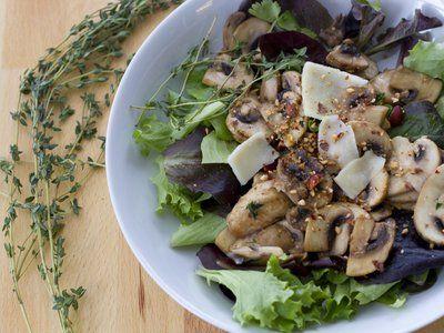 warm mushroom mushroom salad and more dishes warm mushroom salad ...