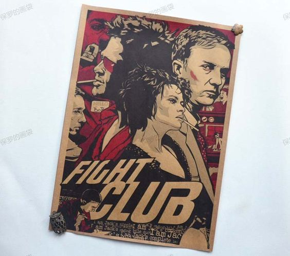 Fight club Film Vintage Papier Plakate retro kunst wanddekoration 30x42 cm in  Hallo mein Freund, dieser Artikel hat kein Tracking Informationen.Ich möchte Lieferung ohne Tracking-Inform aus Malerei & Kalligraphie auf AliExpress.com | Alibaba Group