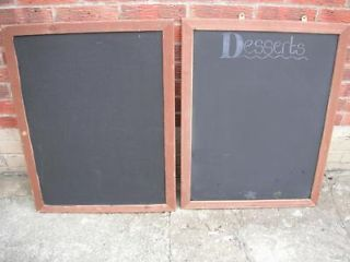 Pair of Chalkboards/Blackboards Nottingham Picture 1