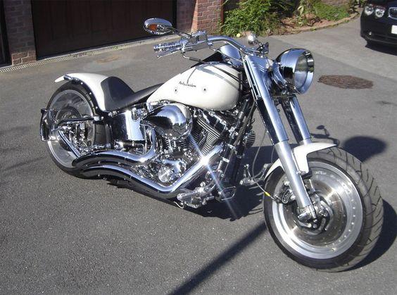 Custom Harley Fat Boy❤️